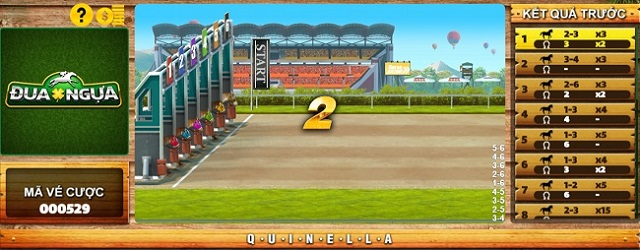 Cược Quinella là hình thức cược chọn ra ít nhất 2 con ngựa để đặt tiền