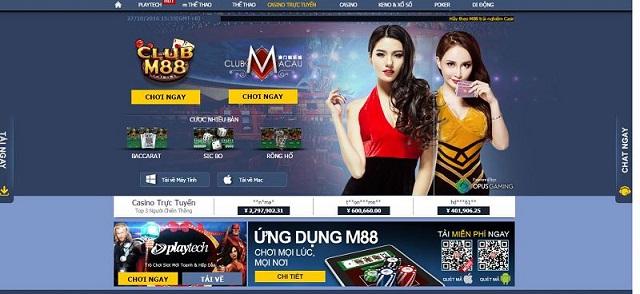 M88 là sàn cá cược giải trí trực tuyến nổi tiếng toàn châu Á
